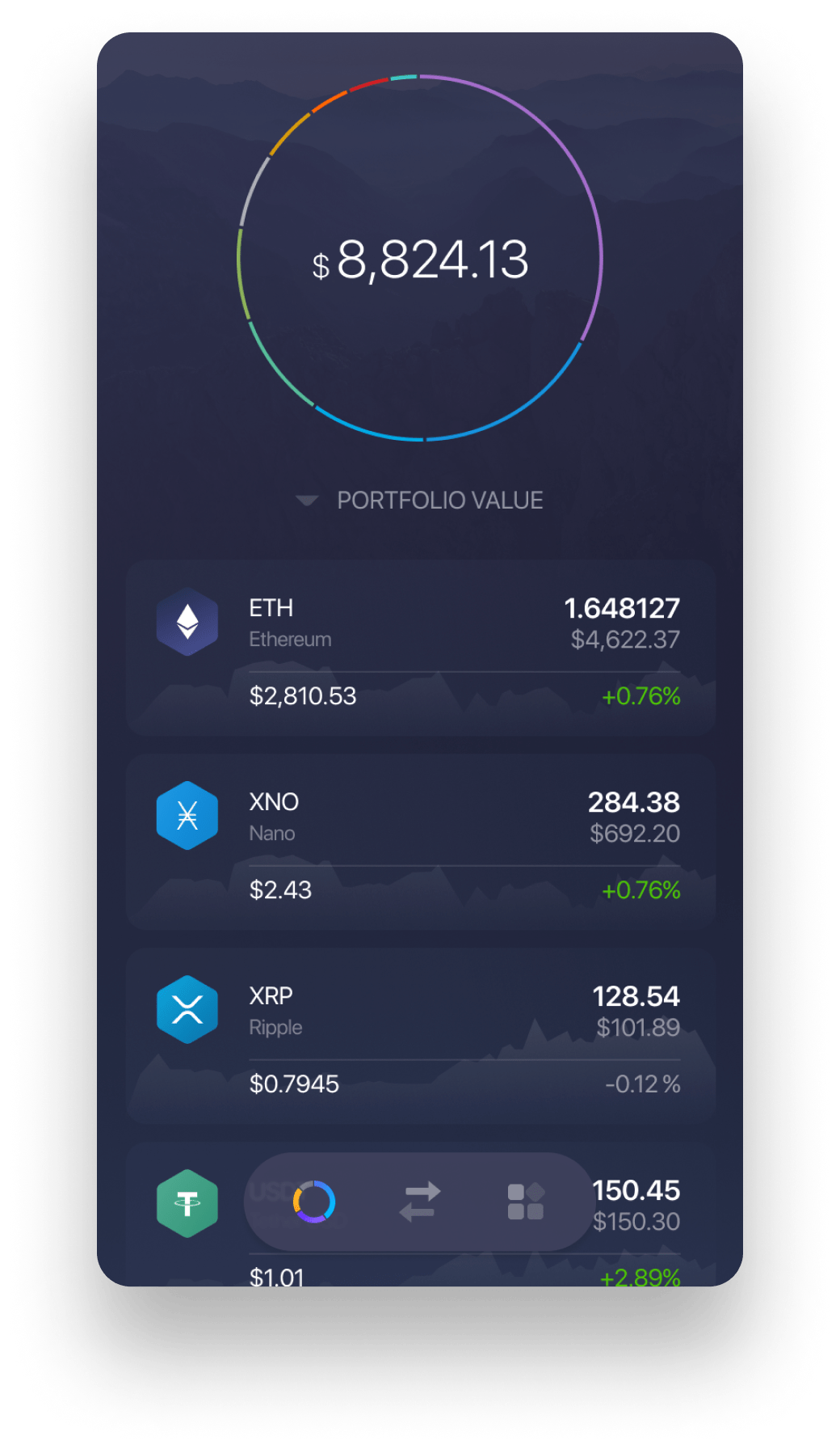 Experience Nano on Exodus Mobile