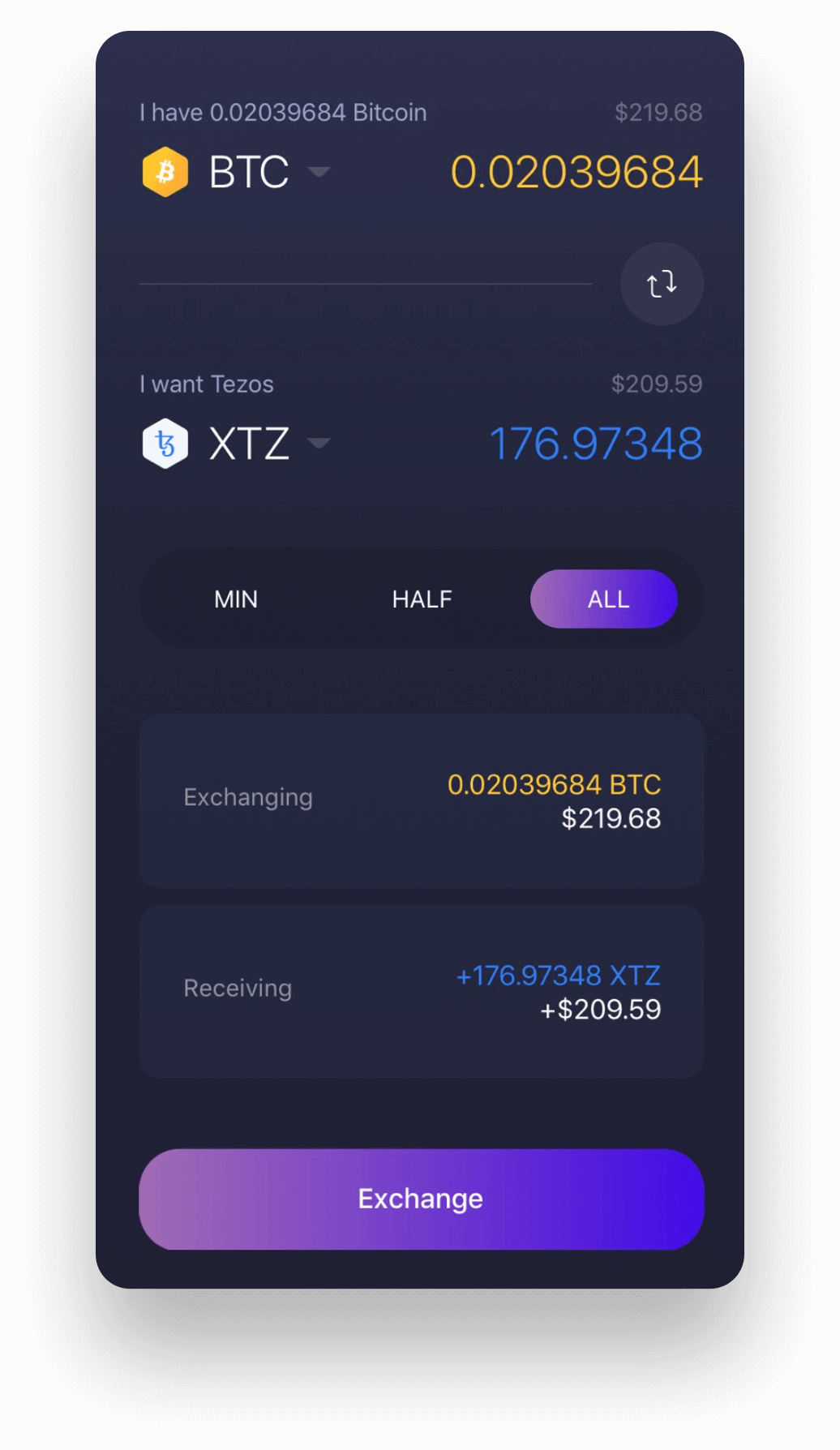 Experience Tezos on Exodus Mobile